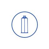 AB胶筒常用于高档双组份液体材料的包装